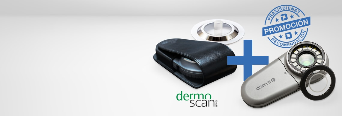 Dermatoscopio de mano Illuco IDS-1100