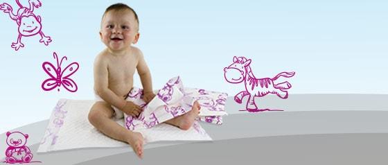Alèses pour bébés