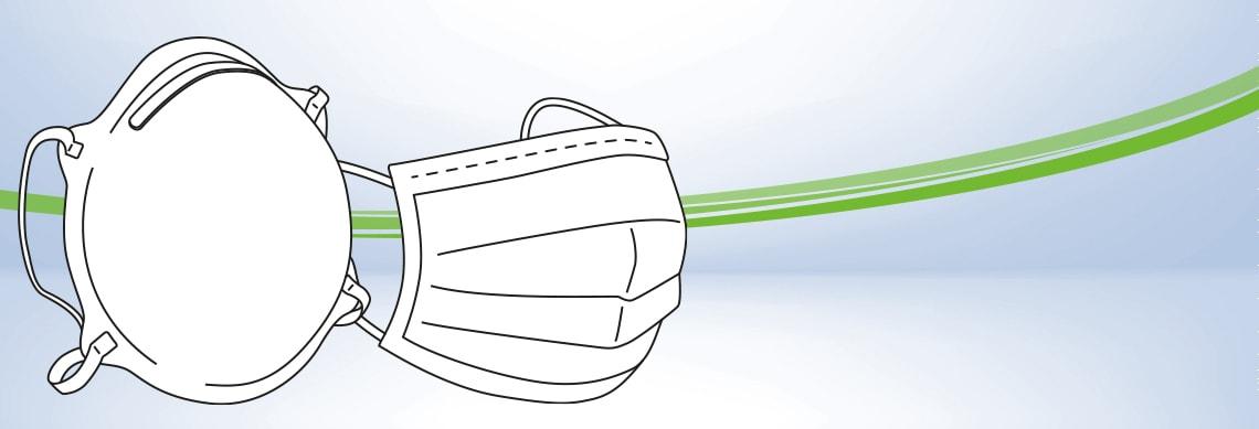 Mundschutz & FFP-Maske im Vergleich