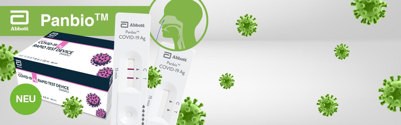 Panbio™ Nasaler COVID-19 Ag Schnelltest