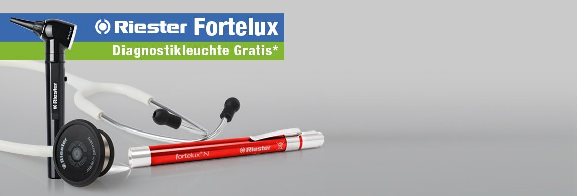 Riester Fortelux Aktion