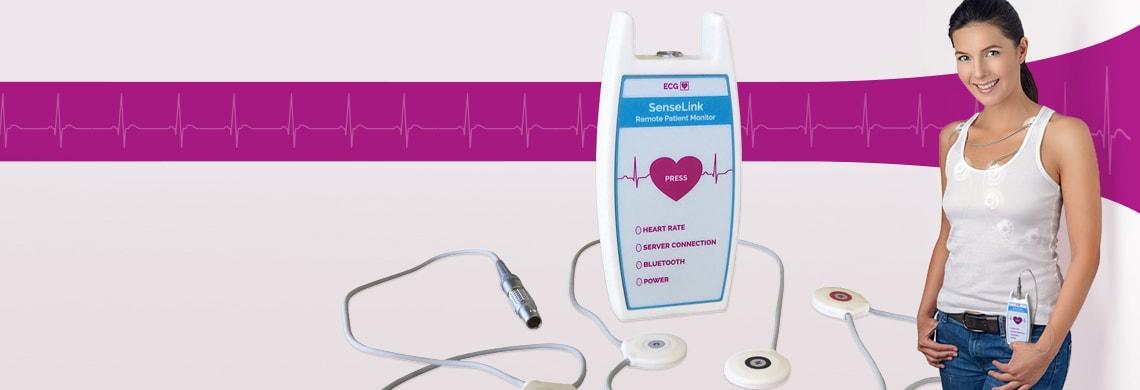 SenseLink Holter ECG