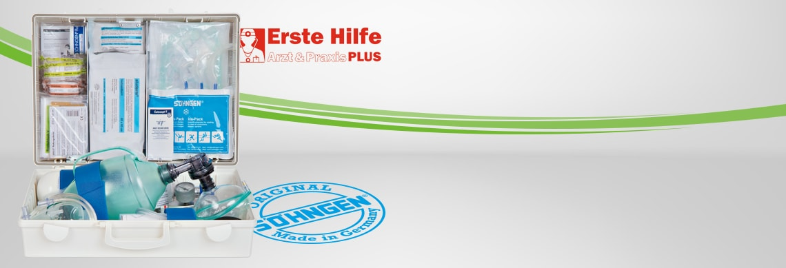 EHBO-koffer «Arzt + Praxis PLUS»