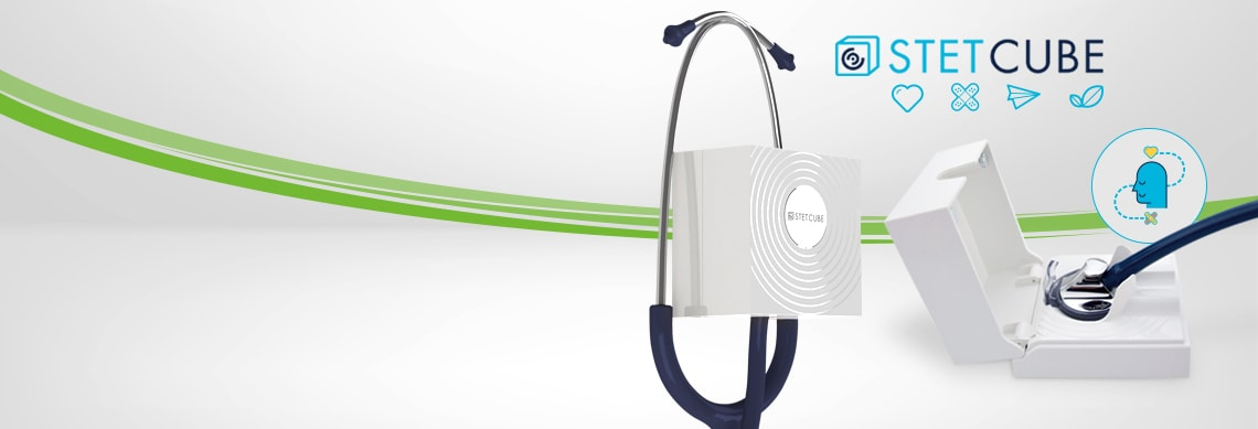 Stet Cube - Stethoscope Disinfector