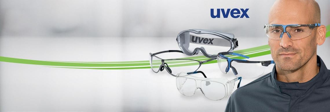 Lunettes de sécurité Uvex