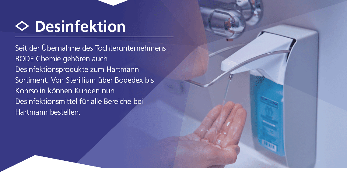 Hartmann Desinfektionsprodukte