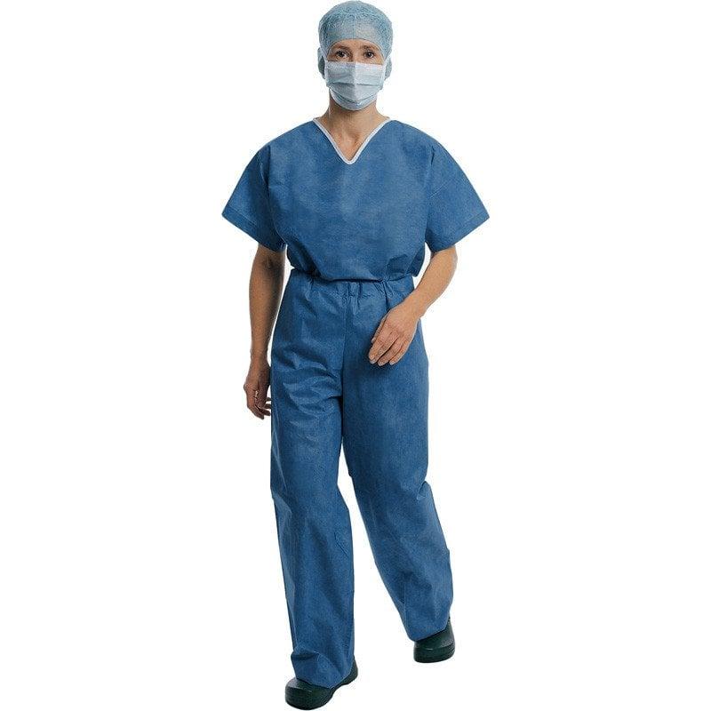 Foliodress suit OP-Bekleidung in blau