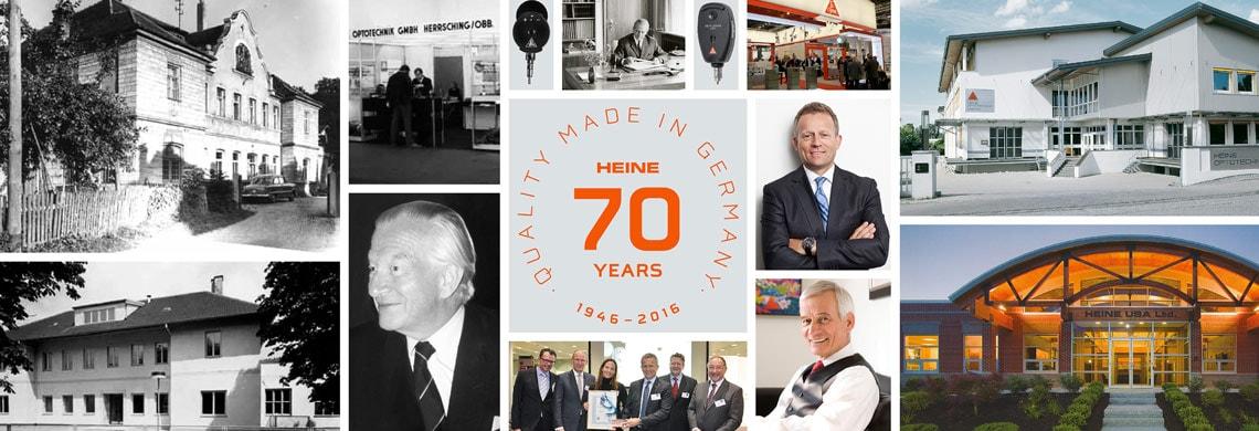 70 Jahre HEINE Optotechnik