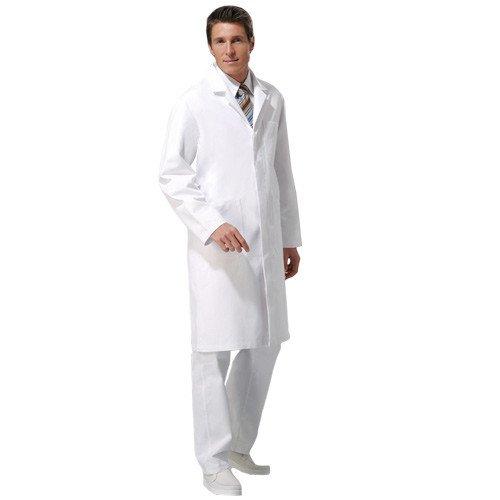 Heren-doktersjas met reverskraag
