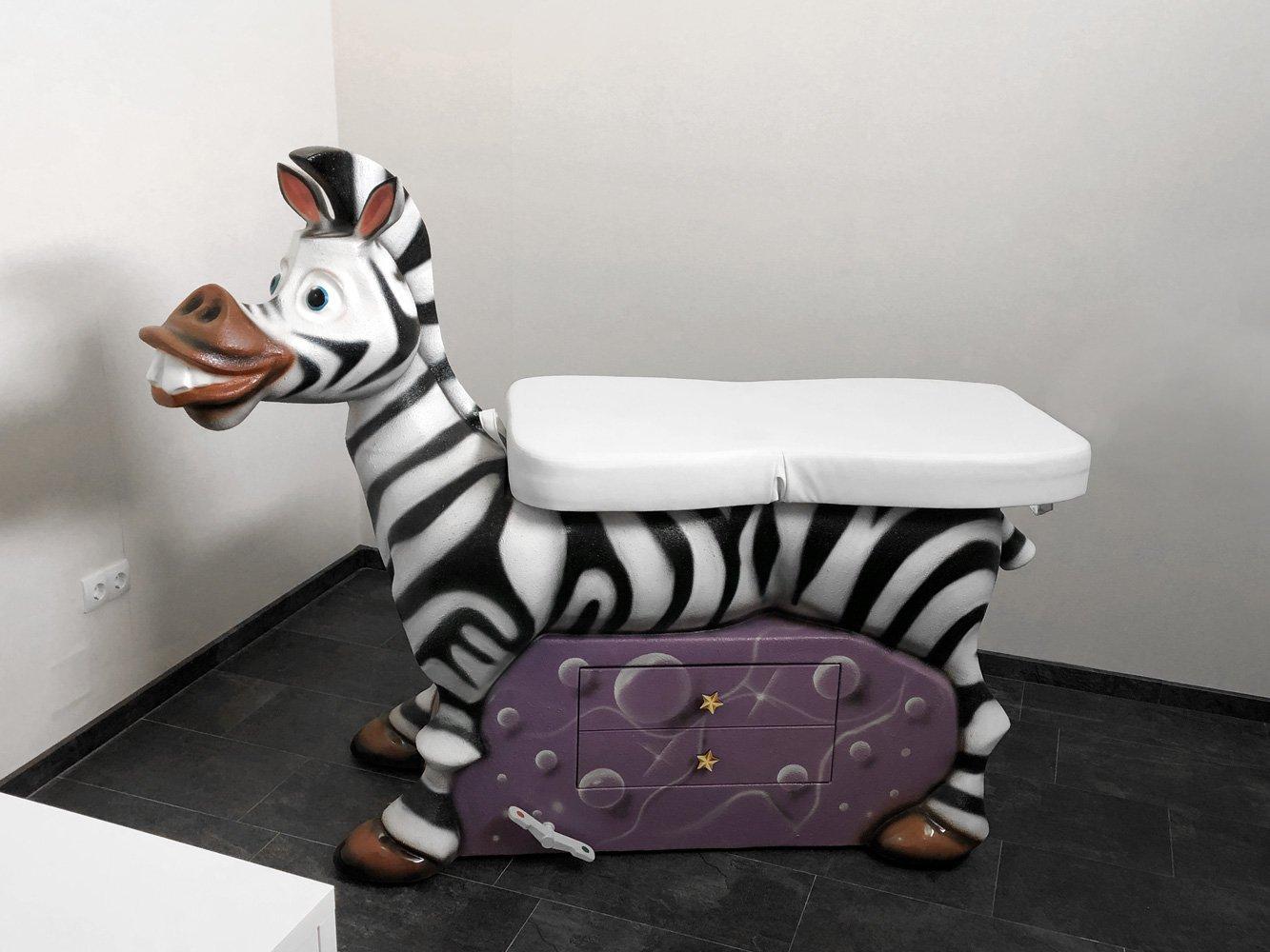 Pediatrische onderzoekstafel «Zebra»