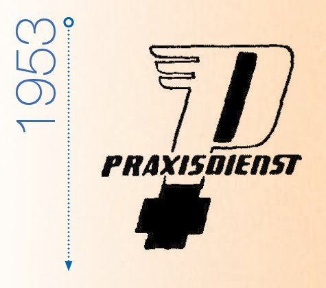 Logo Praxisdienst 1953