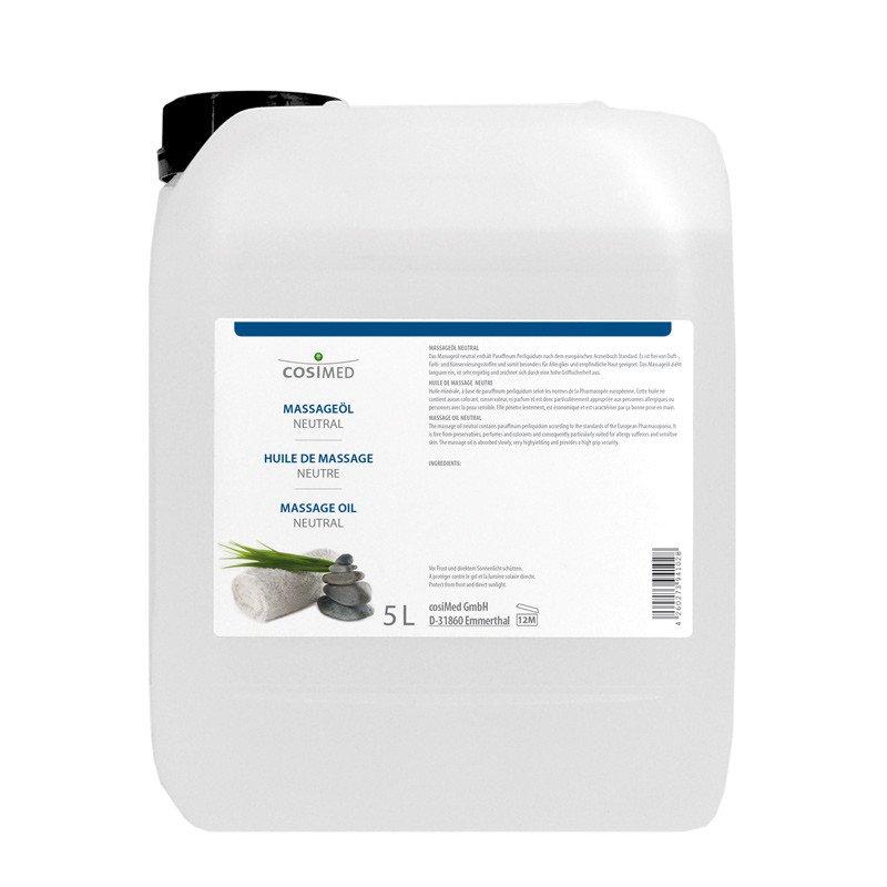 Massage Oil, neutral 5 litre canister