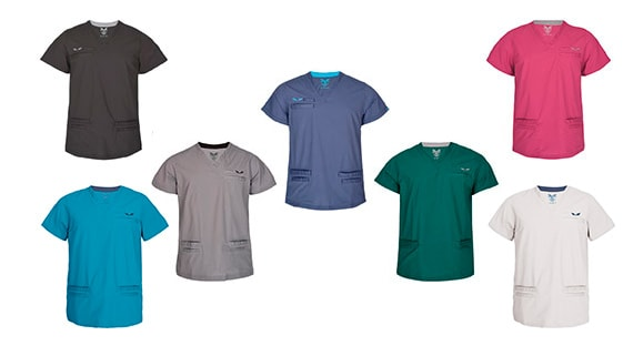 Canberroo Men's Scrub Tops