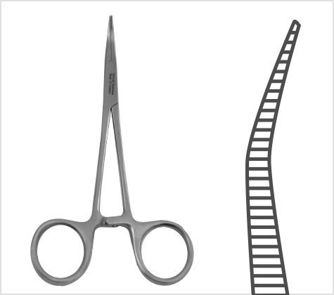 Halsted Mosquito Forceps