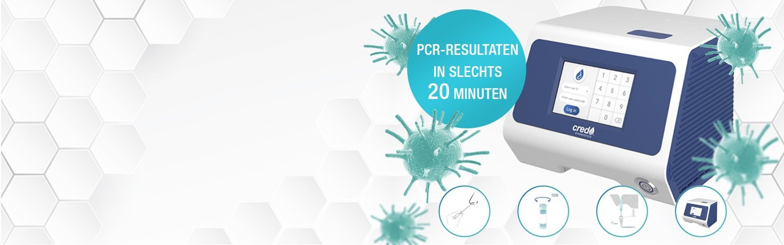VitaPCR™ testapparaat