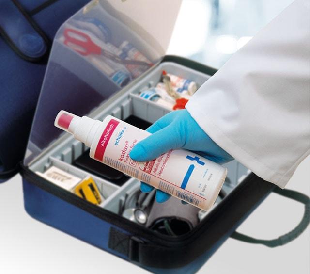 Arztkoffer für Hausbesuche