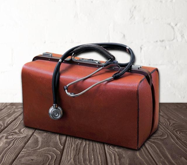 Arzttaschen und Arztkoffer