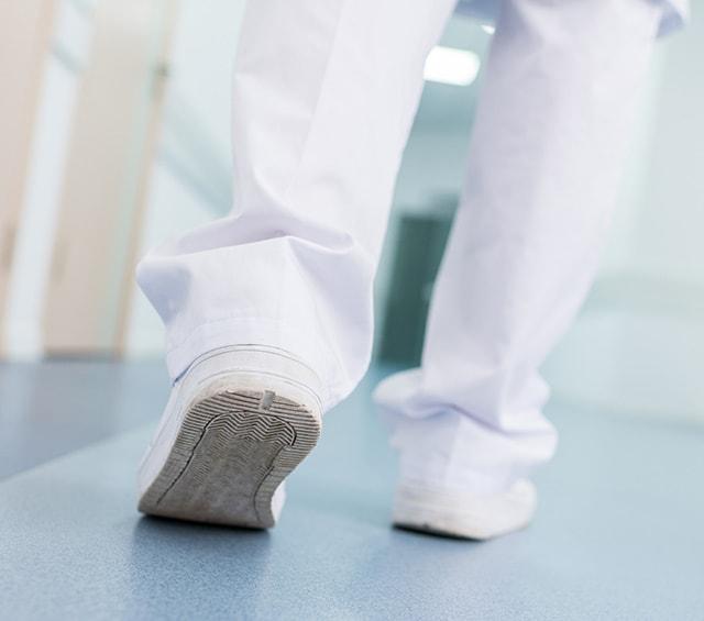 Calzado profesional para médicos