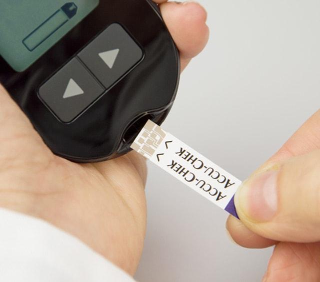 Bandelettes de test glycémique pour les lecteurs de glycémie