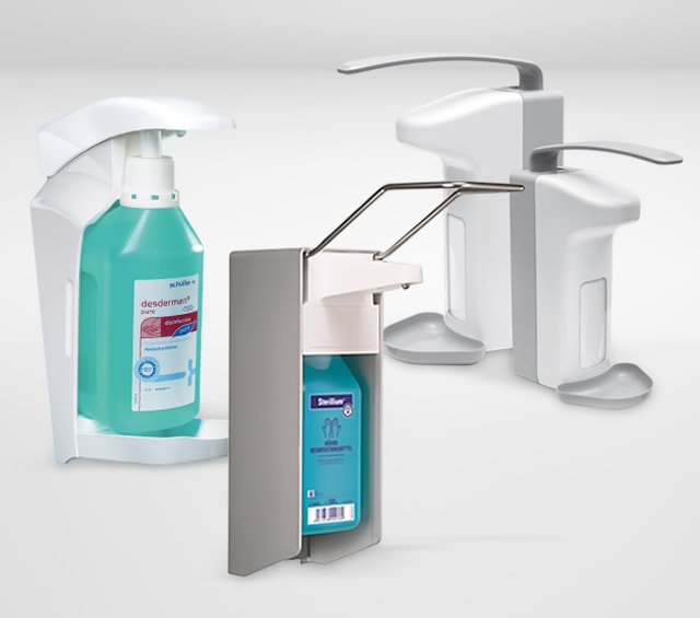 Disinfectant Dispensers for Hand Sanitiser