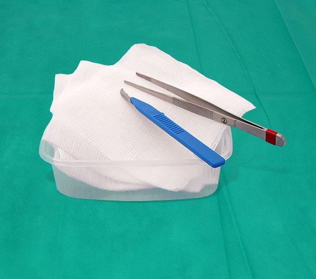 Kits para retiro de suturas