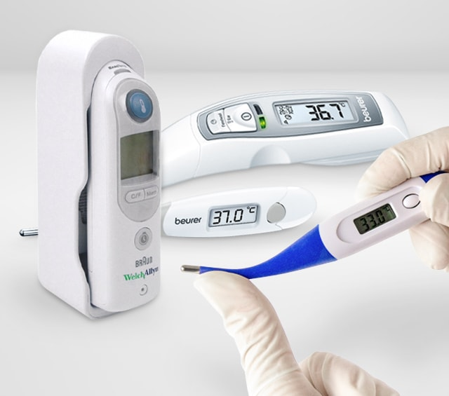 Körpertemperaturmessung mit dem Fieberthermometer