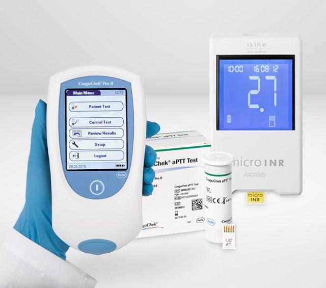 Roche Coaguchek XS PT Test 6 Strisce Reattive Attività Protrombinica