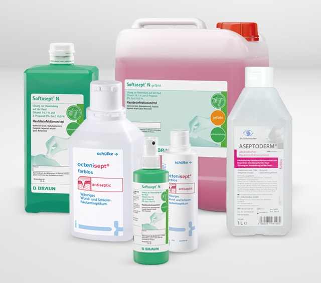 Skin Disinfectants for Professional Skin Disinfection