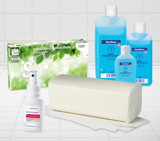 Artykuły higieniczne dla gabinetów lekarskich