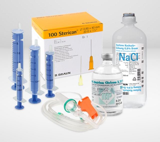 Akcesoria do infuzji i iniekcji