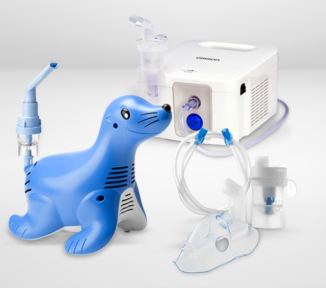 Inhalation Therapy with a Nebuliser