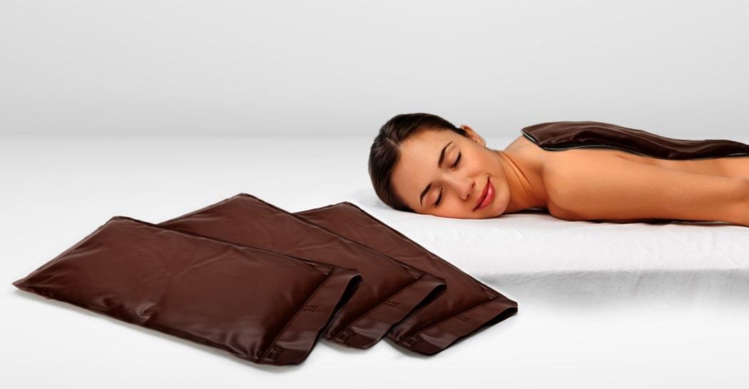 Moorpackung für Fango und Wärmetherapie