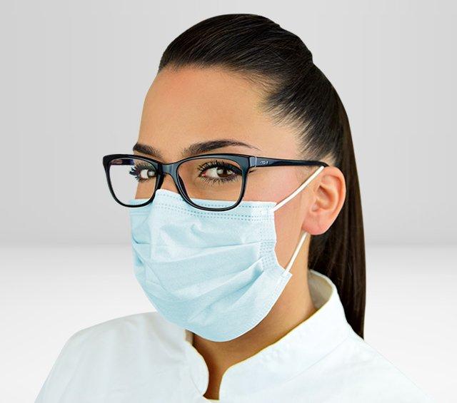 Protectores bucales para quirófanos, consultas médicas, clínicas y laboratorios