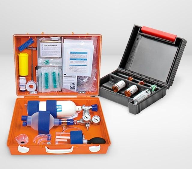 Notfallkoffer für den Rettungsdienst