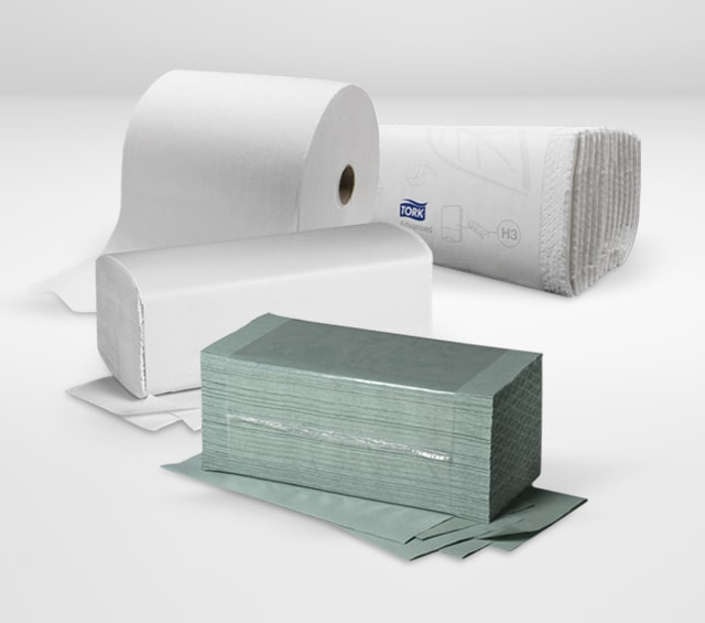 Papierhandtücher für Praxis und Krankenhaus