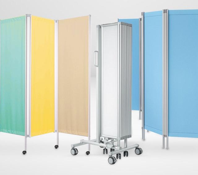 Paravents & cloisons murales pour cabinets médicaux
