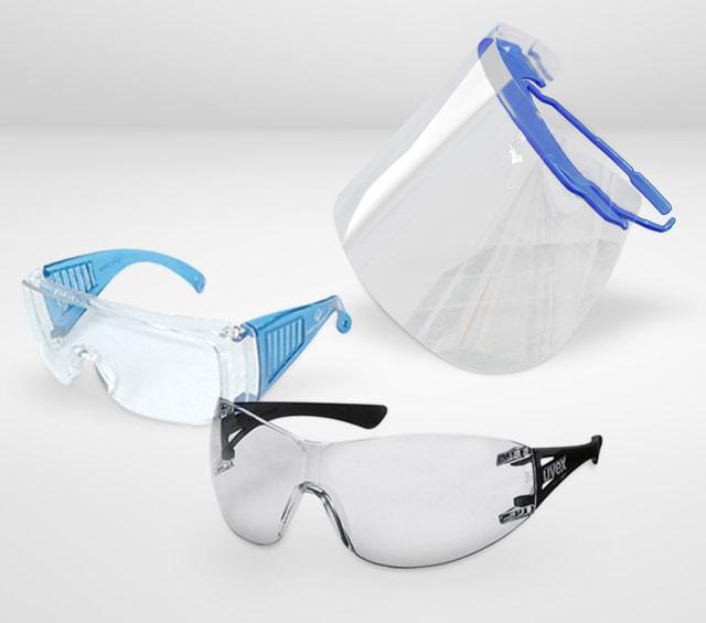 Veiligheids- en laboratoriumbrillen