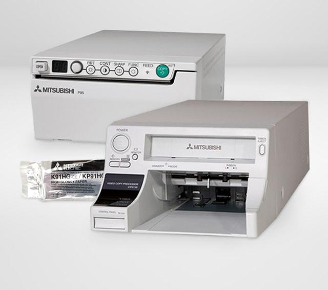 Videoprinter und Videoprinterpapier zum Ausdrucken von Ultraschallbildern