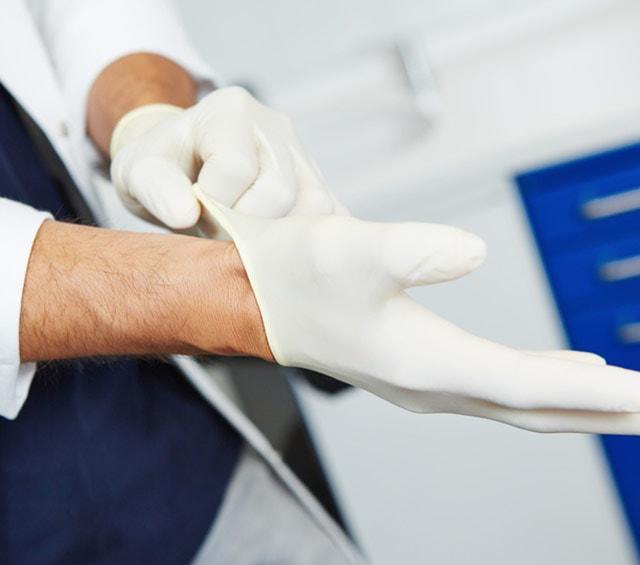Medizinische Handschuhe und Einmalhandschuhe