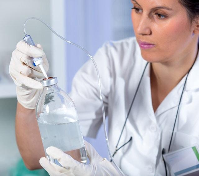 Infusionslösungen für die Infusionstherapie