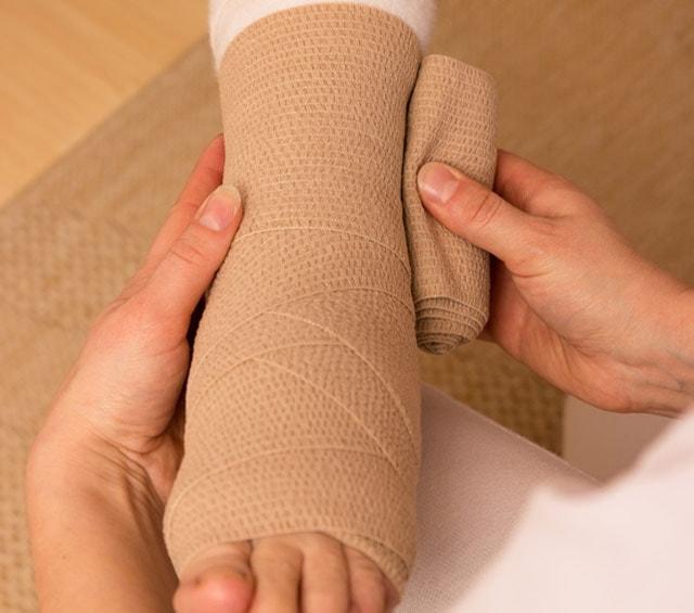 Bandages de compression