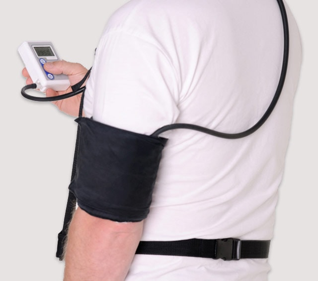 24 Hour Blood Pressure Monitor for Long-Term Blood Pressure Measurement