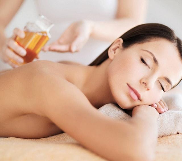 Masaageöl für die Massage