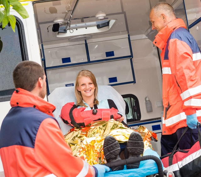 Emergencia y equipos de primeros auxilios