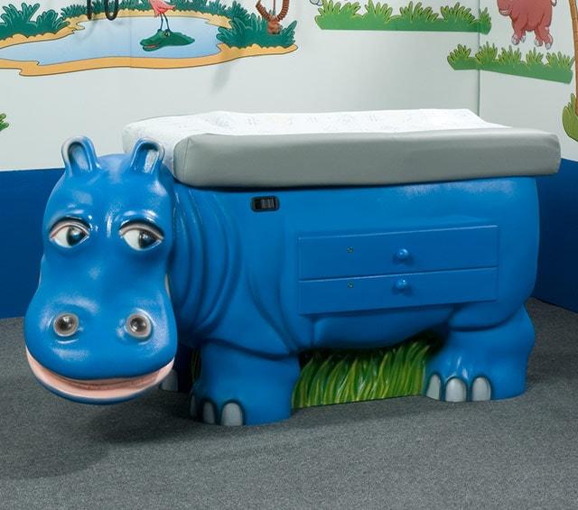 Pädiatrische Untersuchungstische für den Kinderarzt