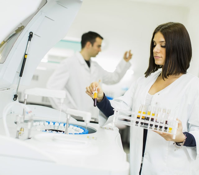 Centrífugas de laboratorio