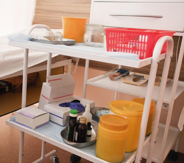 Multipurpose Trolleys for the Practice, Hospital and Laboratory