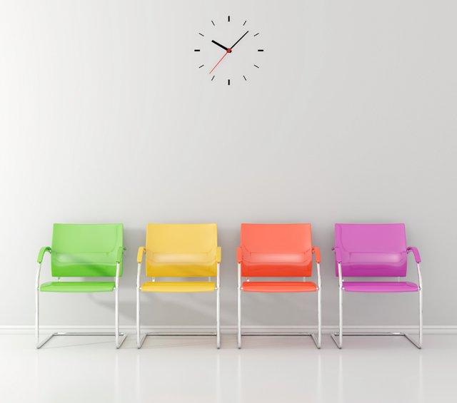 Sedie per sala d'attesa