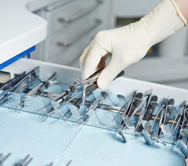 Dental Instruments in the Surgery