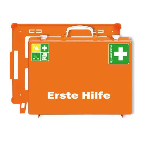 Trousse de premiers secours selon la norme DIN 13169